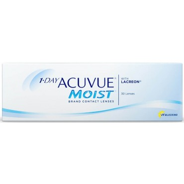 1-day Acuvue Moist (30) contact lenses from www.interlenses.co.uk