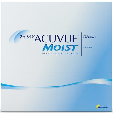 1-day Acuvue Moist (90) contact lenses from www.interlenses.co.uk