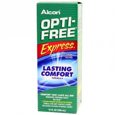 Optifree Express 1 x 355 ml. from www.interlenses.co.uk