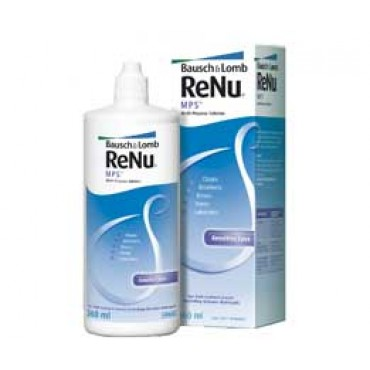 ReNu MPS 1 x 360 ml. from www.interlenses.co.uk