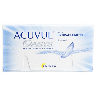 Acuvue Oasys (6) contact lenses from www.interlenses.co.uk