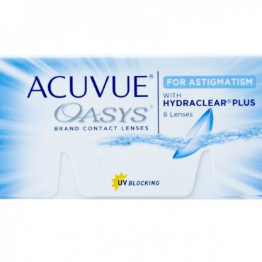 Acuvue Oasys for Astigmatism (6) contact lenses from www.interlenses.co.uk