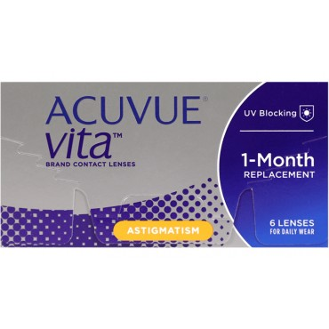 Acuvue Vita for Astigmatism (6) contact lenses from www.interlenses.co.uk