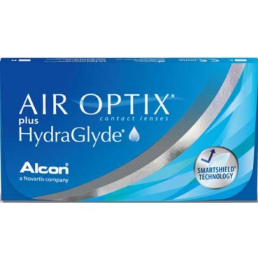 Air Optix plus HydraGlyde (3) contact lenses from www.interlenses.co.uk