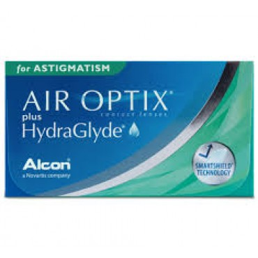 Air Optix Plus Hydraglyde for astigmatism (6) contact lenses from www.interlenses.co.uk