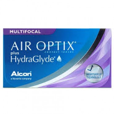 Air Optix Plus HydraGlyde Multifocal (3) contact lenses from www.interlenses.co.uk