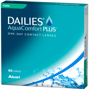 Dailies Aquacomfort Plus Toric (90) contact lenses from www.interlenses.co.uk
