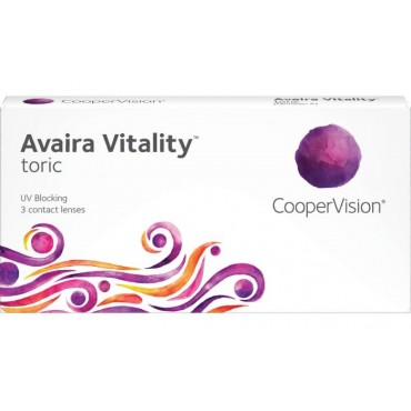 Avaira Vitality Toric (3) contact lenses from www.interlenses.co.uk