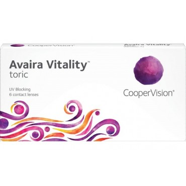 Avaira Vitality Toric (6) contact lenses from www.interlenses.co.uk