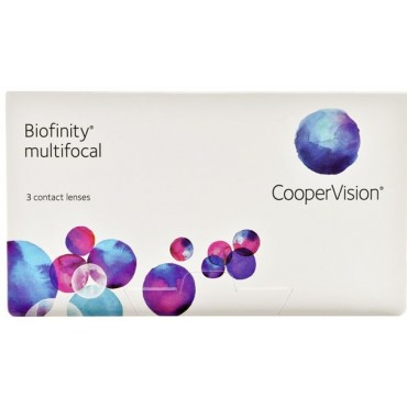 Biofinity Multifocal (3) contact lenses from www.interlenses.co.uk
