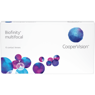 Biofinity Multifocal (6) contact lenses from www.interlenses.co.uk