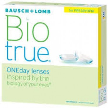 Biotrue Oneday for Presbyopia (90) contact lenses from www.interlenses.co.uk