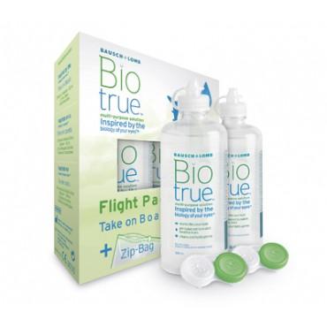 Biotrue Flight Pack - 2 x 60ml. from www.interlenses.co.uk