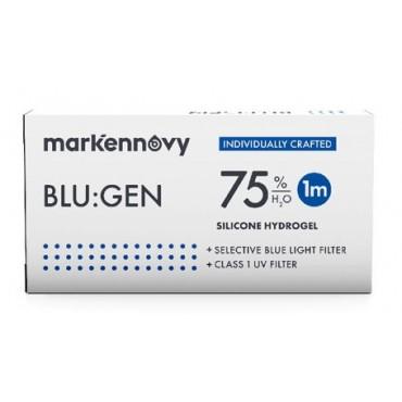 Blu:gen toric (6) contact lenses from www.interlenses.co.uk
