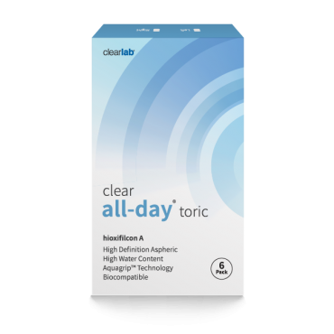 Clearall-dayT  contact lenses from www.interlenses.co.uk