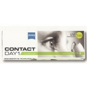Contact Day 1 Multifocal (8) contact lenses from www.interlenses.co.uk