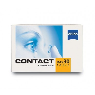 Contact day 30 toric  contact lenses from www.interlenses.co.uk