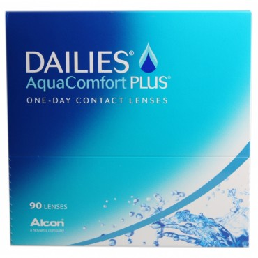 Dailies AquaComfort Plus (90) contact lenses from www.interlenses.co.uk