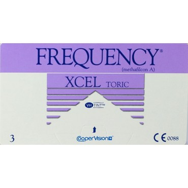 Frequency Xcel Toric (3) contact lenses from www.interlenses.co.uk