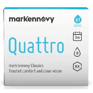 Mark'ennovy Quattro Toric (2) contact lenses from www.interlenses.co.uk