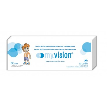 Myvision junior lens (30) contact lenses from www.interlenses.co.uk