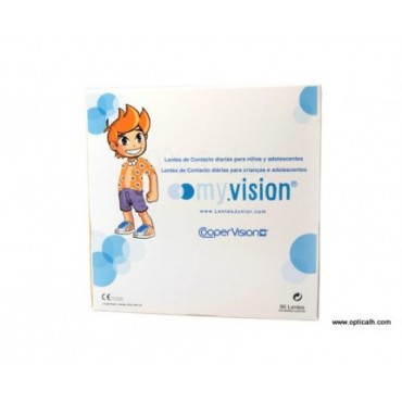 Myvision junior lens (90) contact lenses from www.interlenses.co.uk