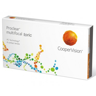 Proclear Multifocal Toric  (6) contact lenses from www.interlenses.co.uk