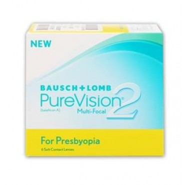 PureVision2 for Presbyopia (6) contact lenses from www.interlenses.co.uk