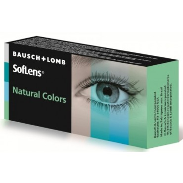 Soflens Natural Colors (Plano)  contact lenses from www.interlenses.co.uk