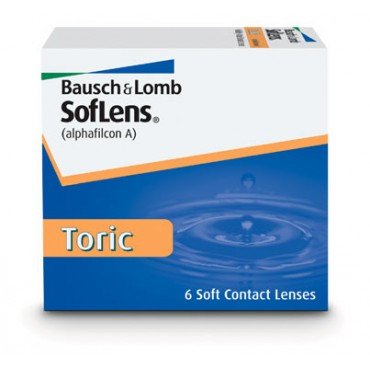 Soflens Toric  contact lenses from www.interlenses.co.uk