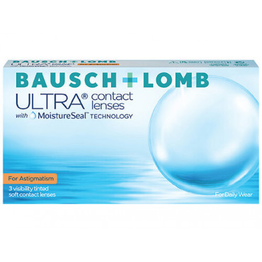 Bausch+Lomb ULTRA for Astigmatism (3) contact lenses from www.interlenses.co.uk