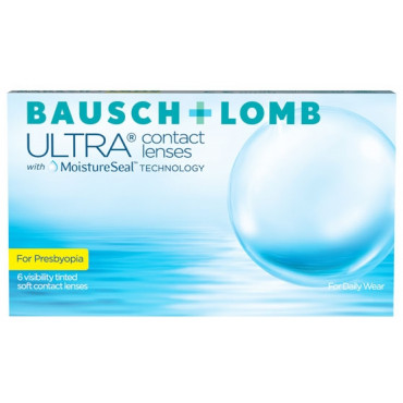 Bausch + Lomb ULTRA for Presbyopia (6)  contact lenses from www.interlenses.co.uk