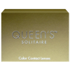 Queen's Solitaire (plano)(2) contact lenses from www.interlenses.co.uk