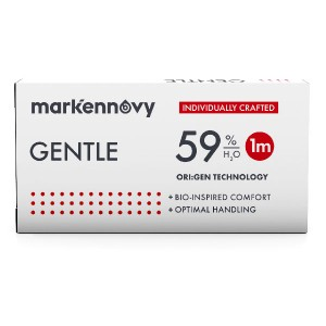 Gentle 59 contact lenses 3-pack